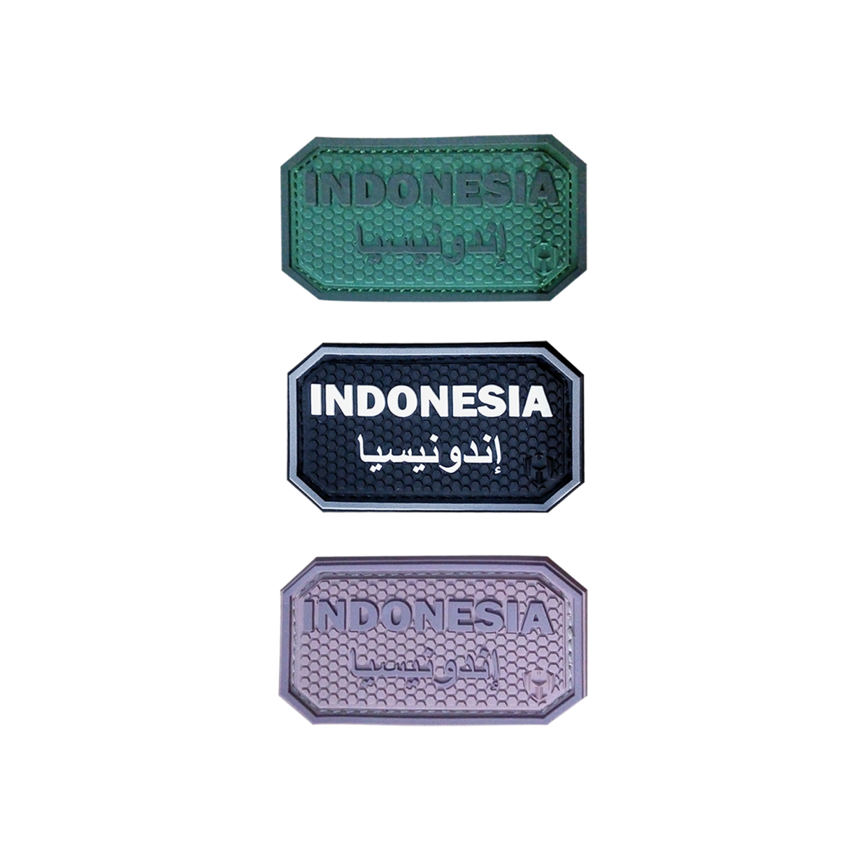 Indonesia Arabic PVC Patch