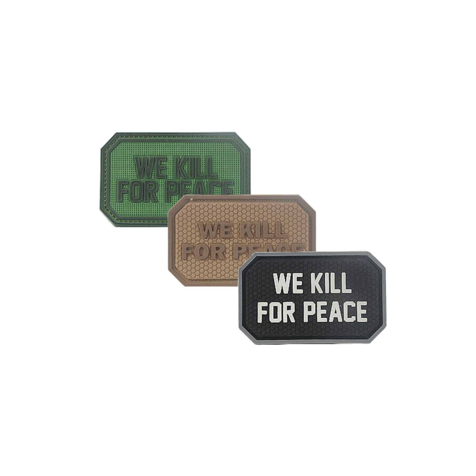 We Kill For Peace PVC Patch
