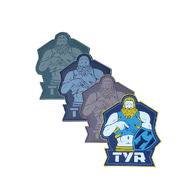 Viking God PVC Patch - TYR